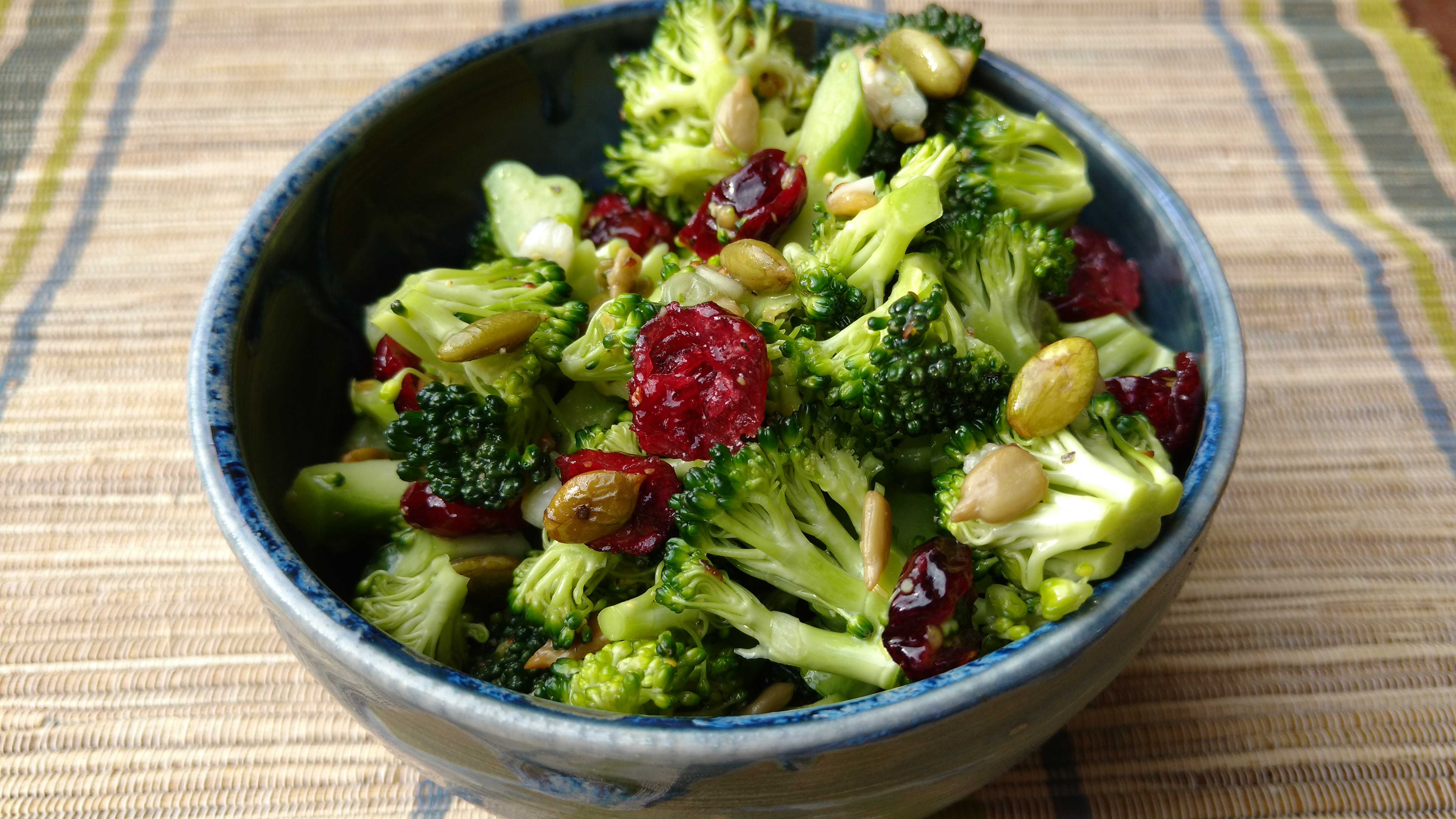 Cranberry Broccoli Floret Salad Without Mayo Move Daily